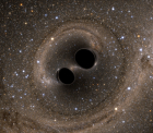 Discovery of Colliding Black Holes